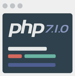 php version on wix
