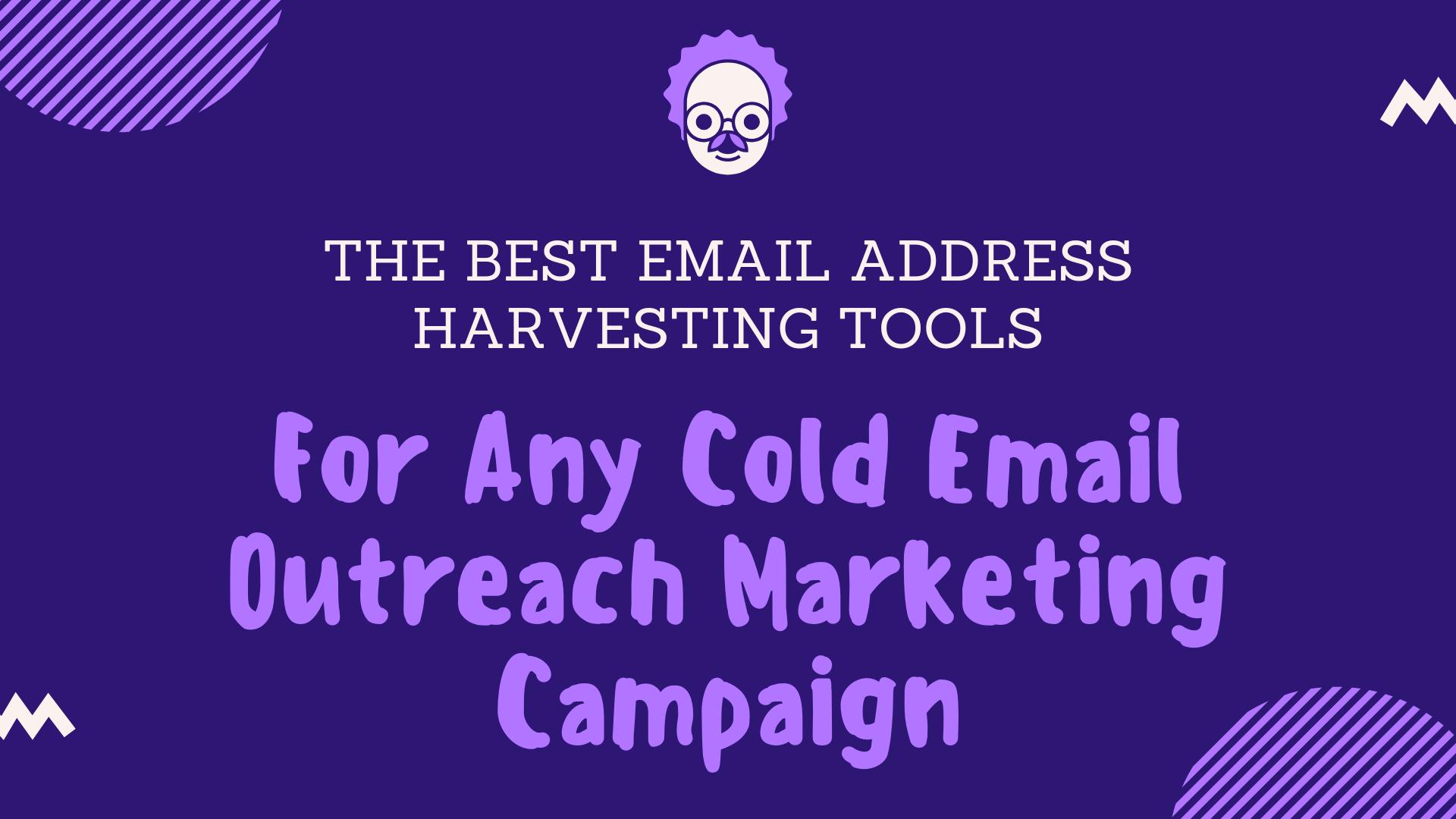 email address harvesting tool