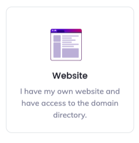 connect your website to your brave publisher account