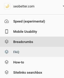 FAQ schema results in webmaster tools