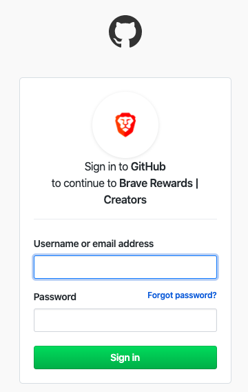 give access to github and brave