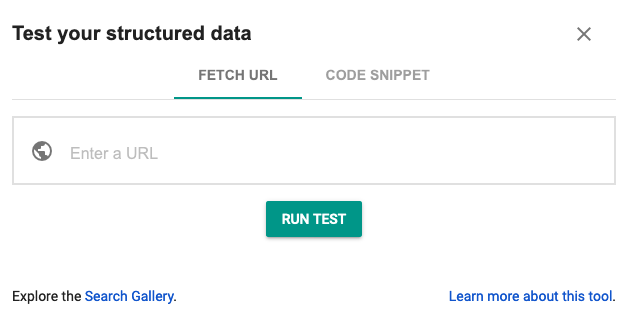 test your structured data with the structured data testing tool on Google