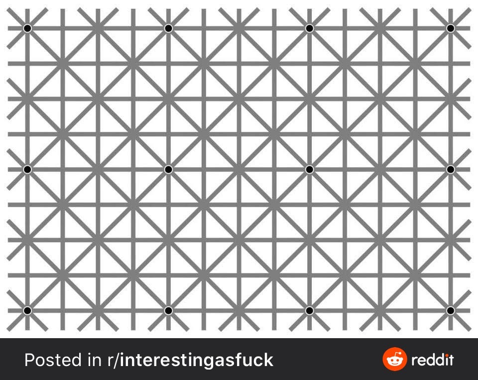 An optical illusison to keep you on my page for longer