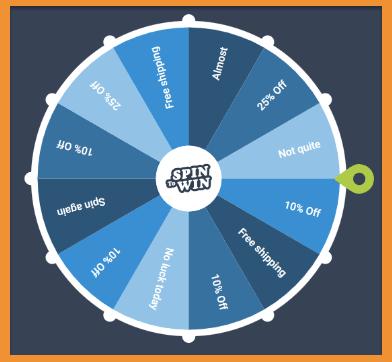 lucky spin wheel app
