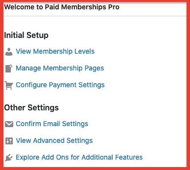 Download the Paid Membership Pro plugin for WordPress
