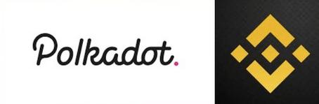 Polkadot on binance logo