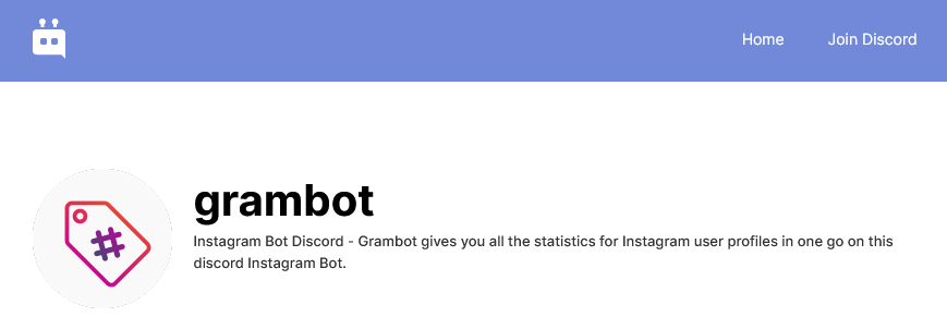 grambot for discord